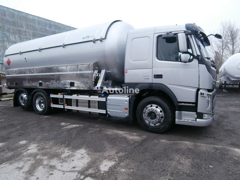 VOLVO caminhão-tanque gás + reboque