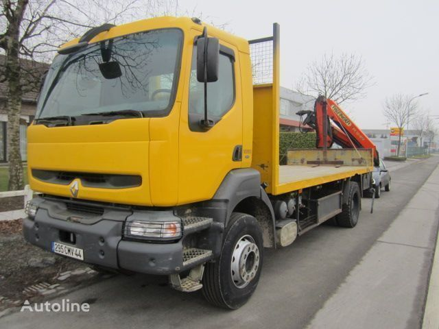 RENAULT KERAX 340 PALFINGER PK - 12080 camião plataforma