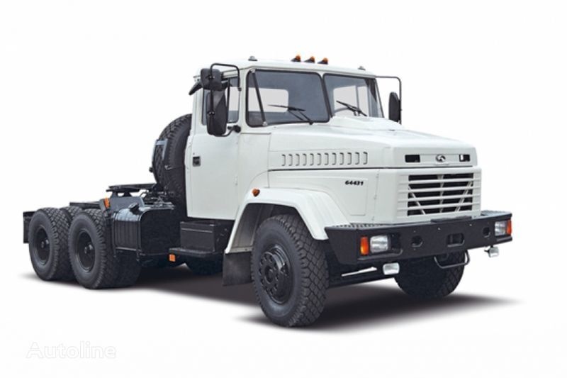KRAZ 64431 camião tractor