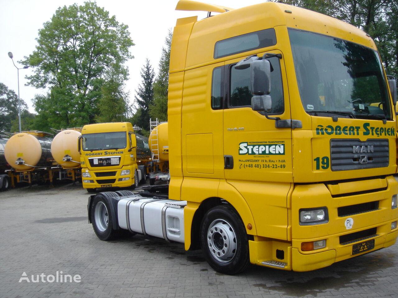 MAN TGA 18.413 camião tractor