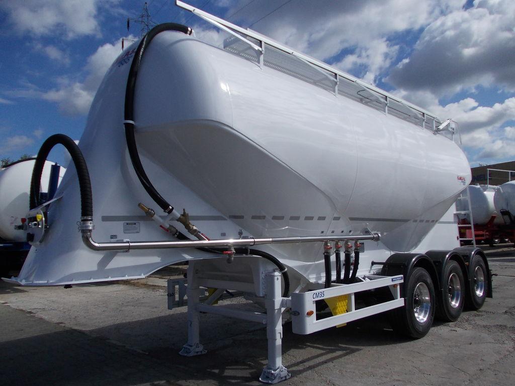 OMEPS CM 35 NOWA !!! cisterna de transporte de cimento novo