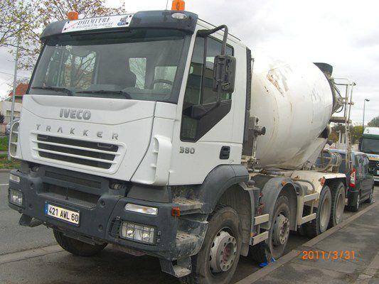 IVECO camião betoneira