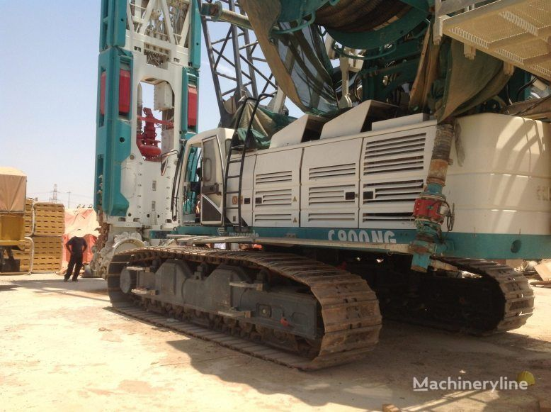 CASAGRANDE FD90 on C900 crane  EXCELLENT CONDITION!!! equipamento de perfuração