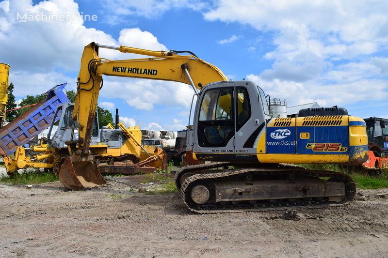 NEW HOLLAND E215B escavadora de lagartas
