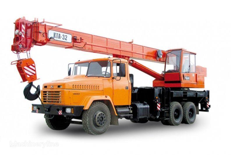 KRAZ 65053 (KTA-32)  grua móvel