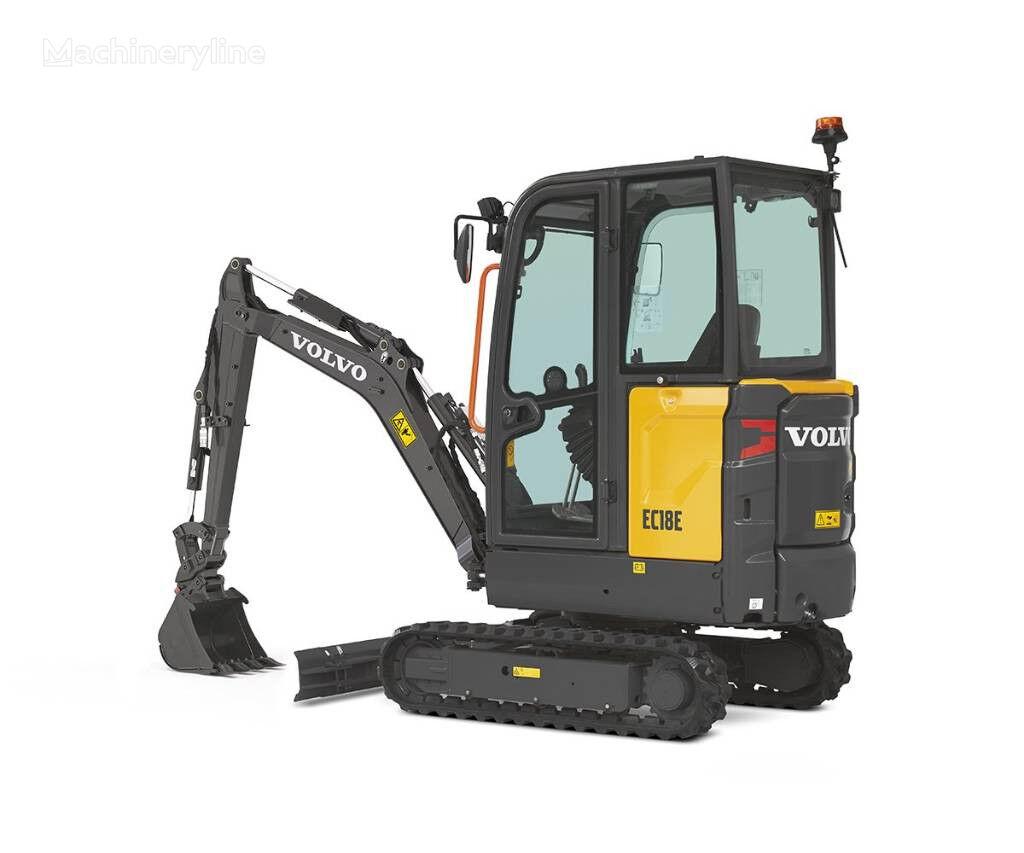 VOLVO EC18D mini-escavadora