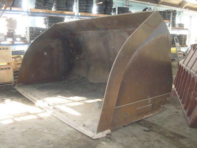 Light material bucket for coal empilhador frontal caçamba