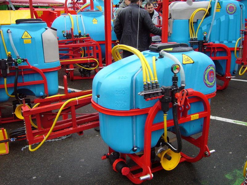 MAKS 300 pulverizador montado novo