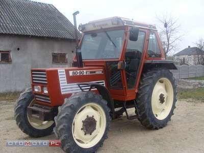 FIAT 80 90 DT trator de rodas