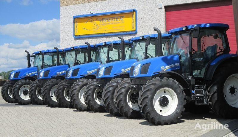 NEW HOLLAND T6.140 AEC, air, front suspensoin! trator de rodas novo