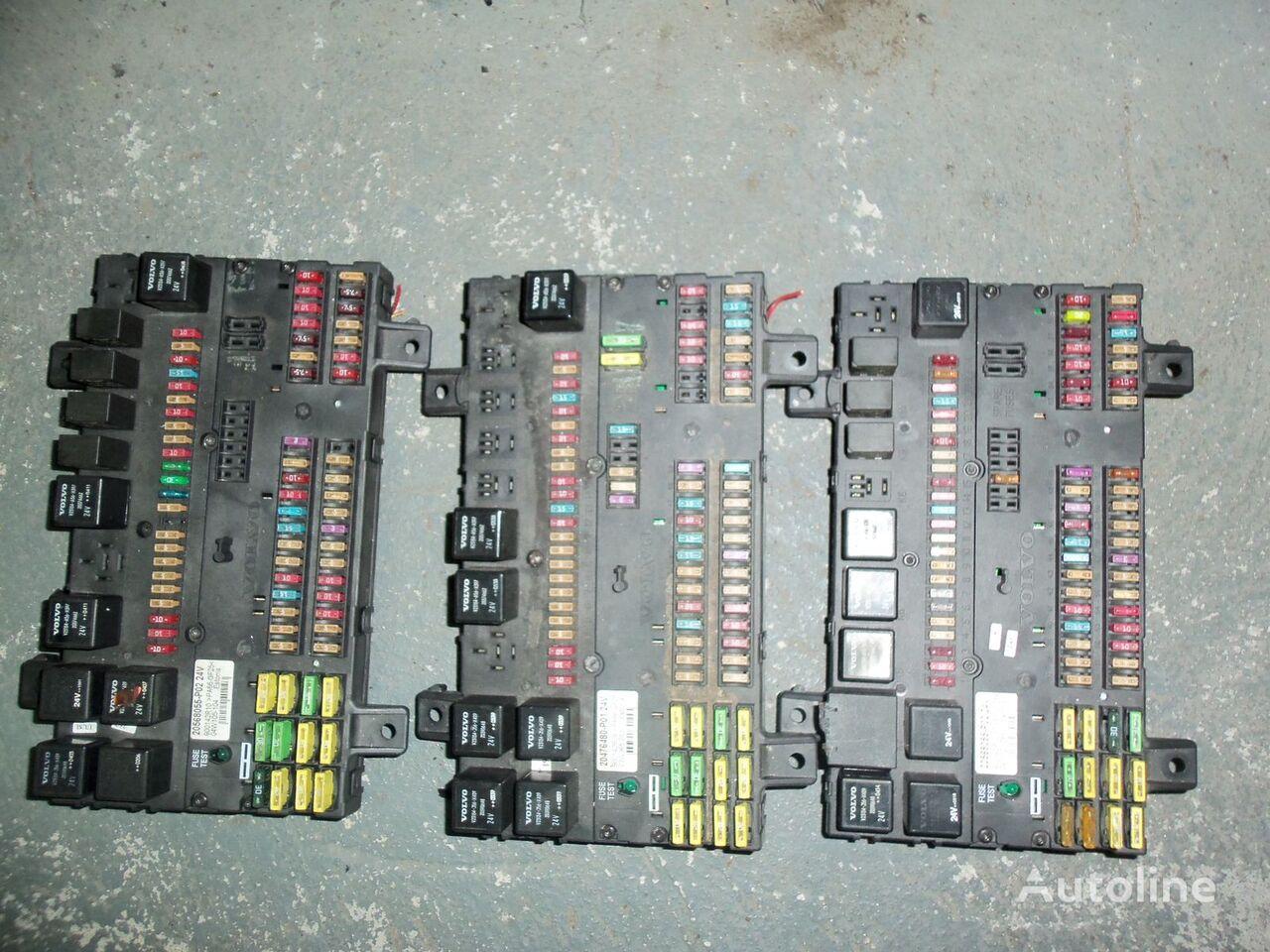 VOLVO FH13 fuse and relay center, central electrical box 20568055, 21732199 caixa de fusíveis para VOLVO FH13 camião tractor