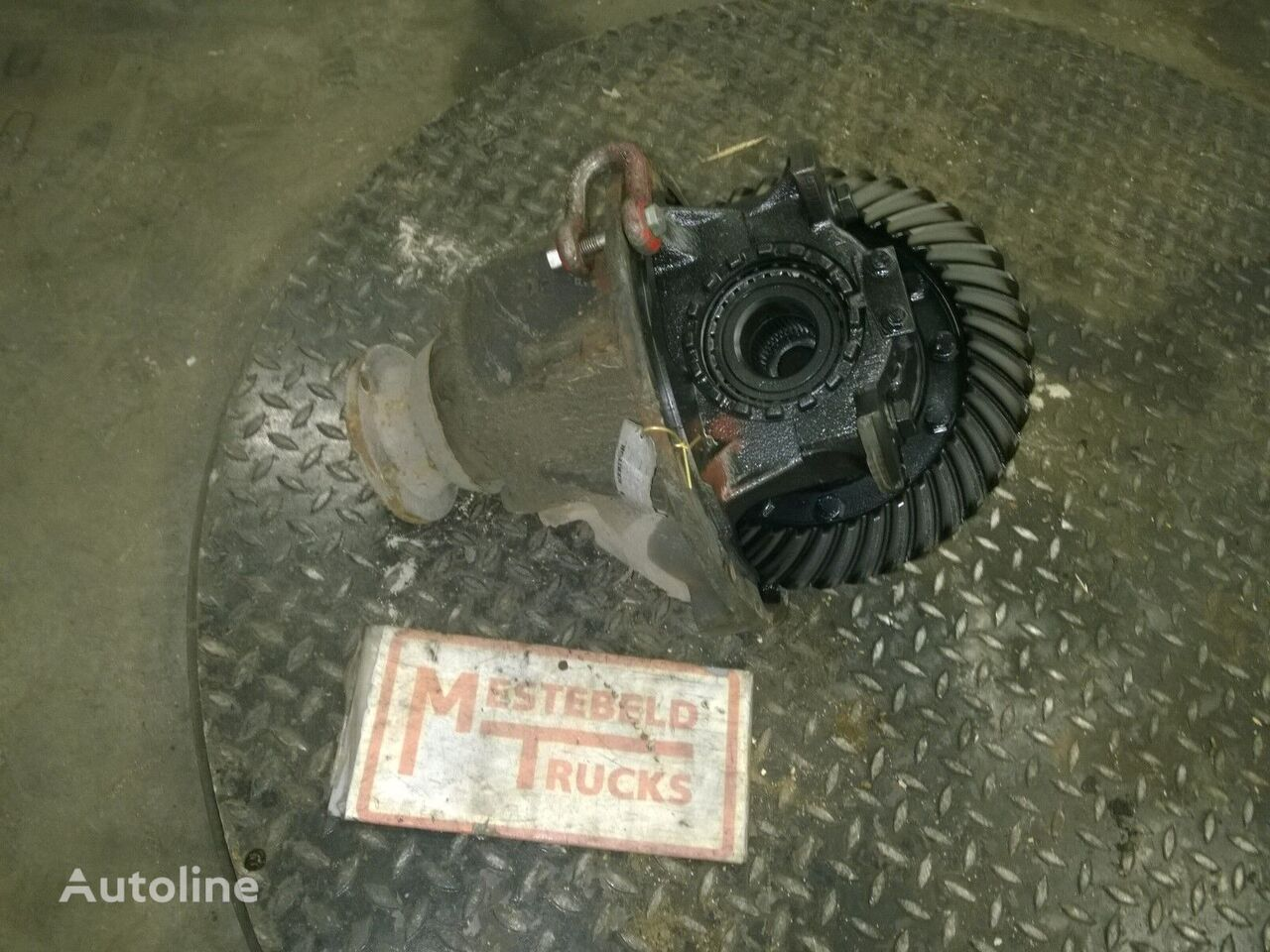 RS-120 I = 3.73 engrenagem de redução para VOLVO Differentieel FL camião tractor