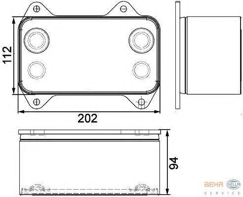 DAF 1667565.8MO376733421 radiador para DAF camião tractor novo