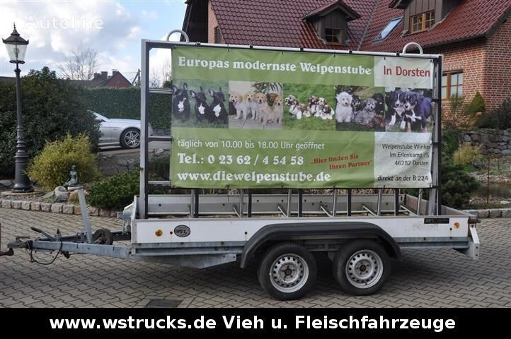 BöCKMANN Werbeanhänger  reboque plataforma