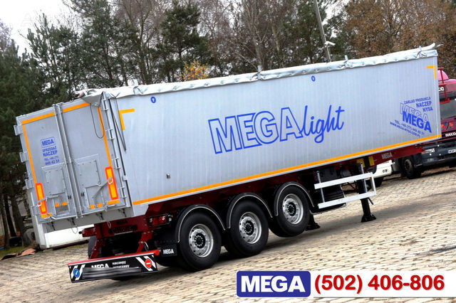 KARGOMIL 42 - 45 m³ Alubox - ULTRA - light only 5,800 kg weight ! READY T semi-reboque de transporte de cereais novo