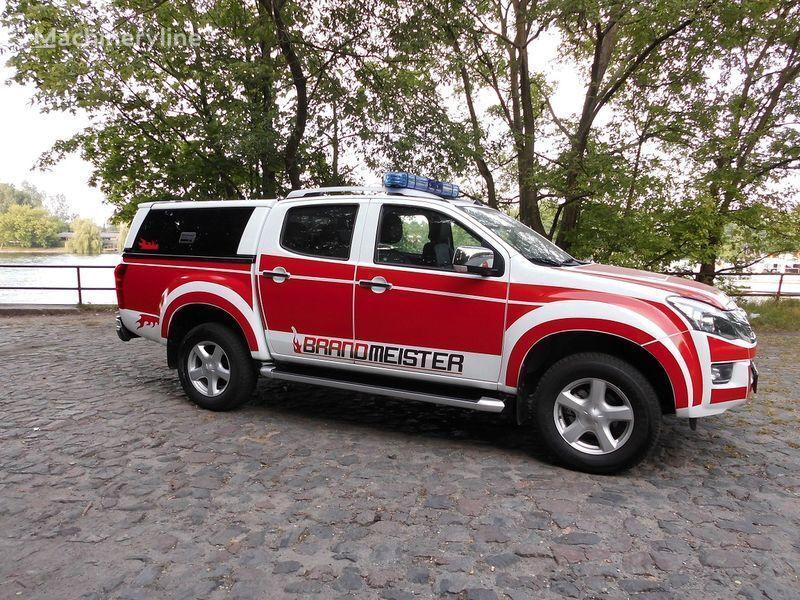 ISUZU D-MAX Löschfahrzeug, Einsatzleitfahrzeug, Vorausfahrzeug carro de bombeiros