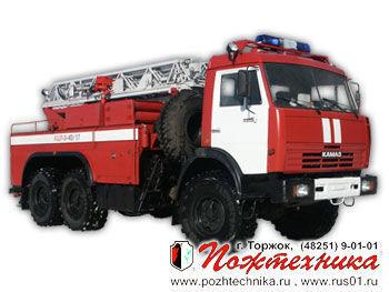 KAMAZ ACL-3-40/17    carro de bombeiros