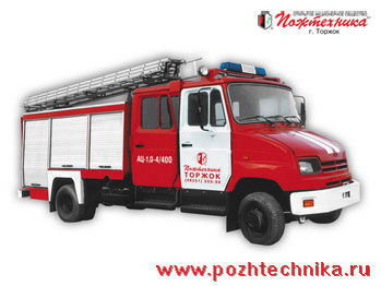 ZIL AC-1,0-4/400 carro de bombeiros