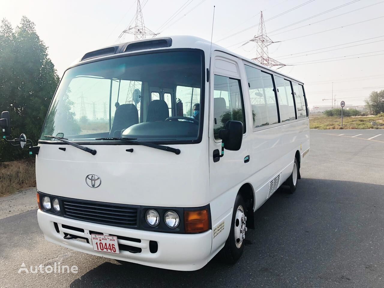 autocarro interurbano TOYOTA Coaster ...PETROL... Japan made - not China