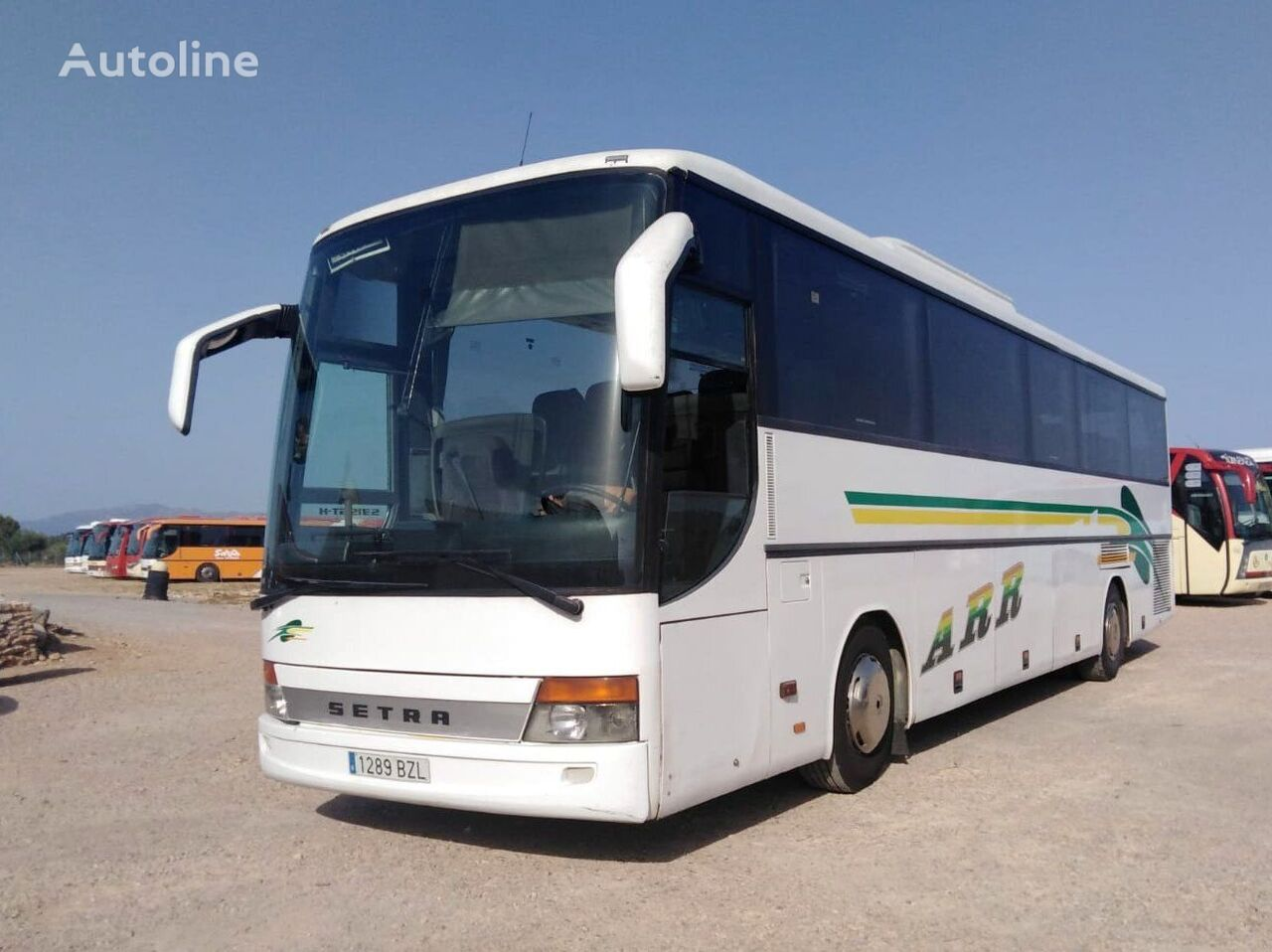 autocarro turístico SETRA S315 GT HD MOTOR MERCEDES + 435 CV