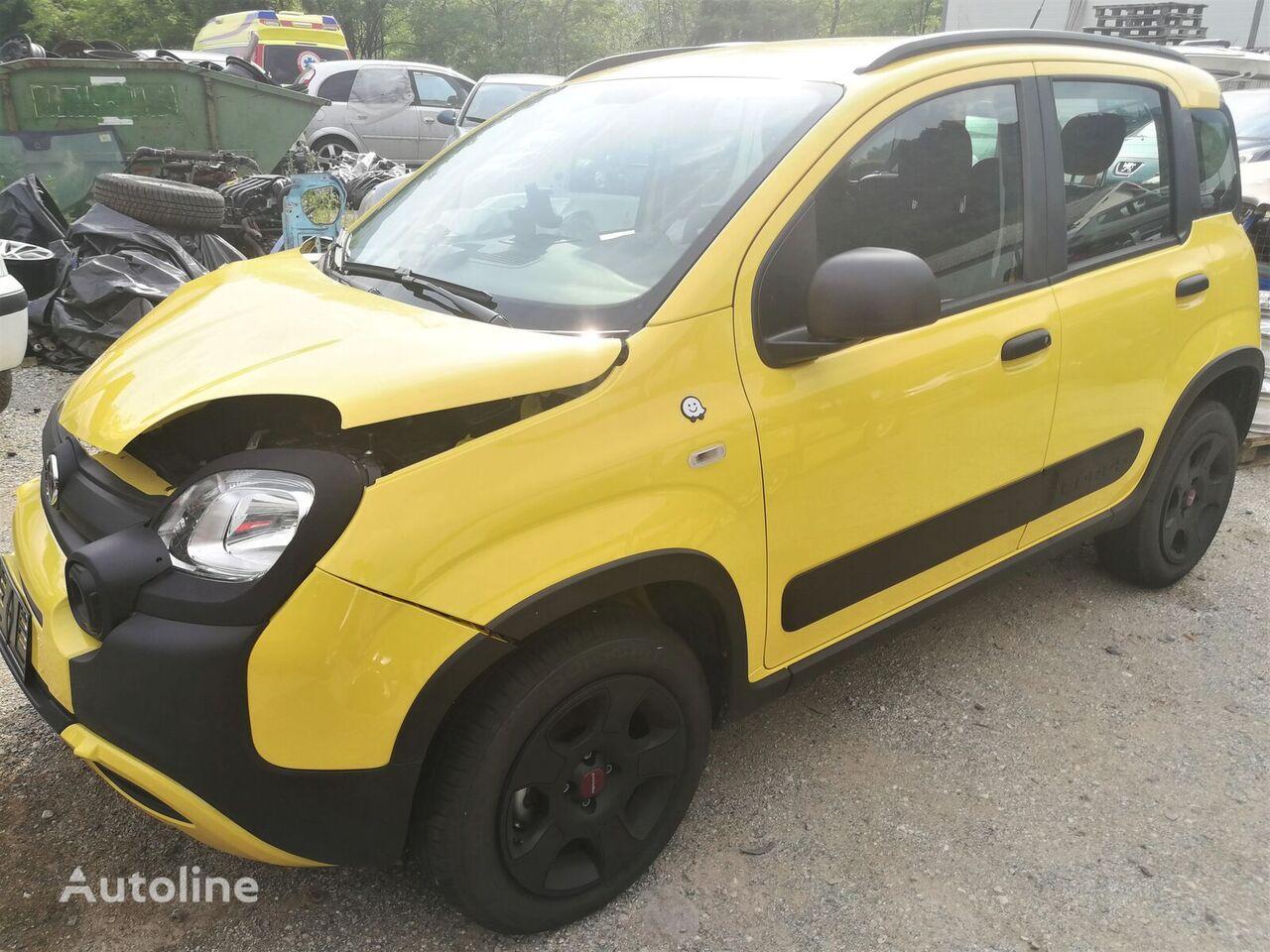 hatchback FIAT 1.2 CROSS  -  DAMAGED acidentados