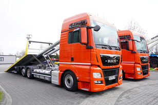 caminhão de reboque MAN TGX 26.440 XXL , E6 , 6X2 , NEW BODY 7,5m , hydraulic , 2x winch
