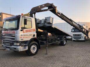 camião basculante DAF CF 75.310 CF75 310 + NO CRANE + MANUAL + KIPPER