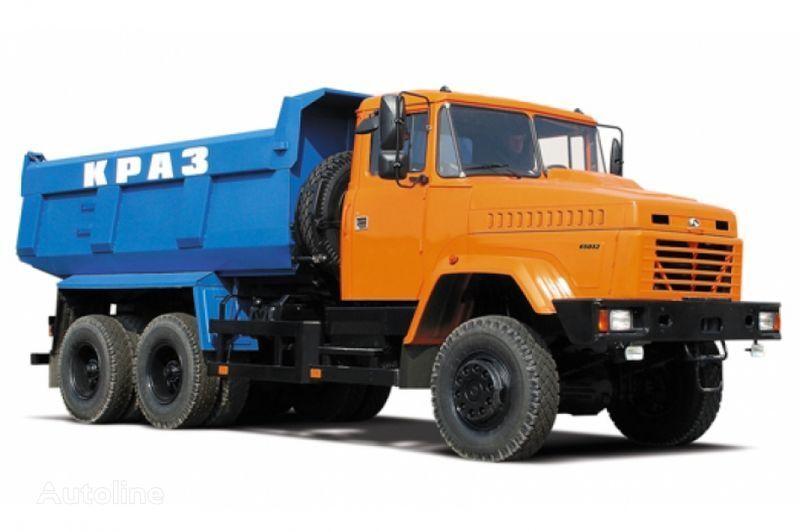 KRAZ 65032 tip 2  camião basculante