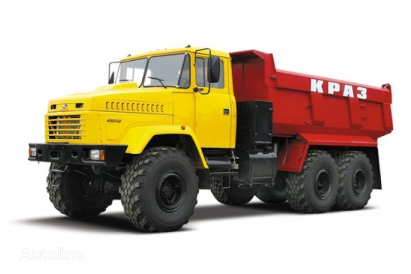 KRAZ 65032 tip 3  camião basculante