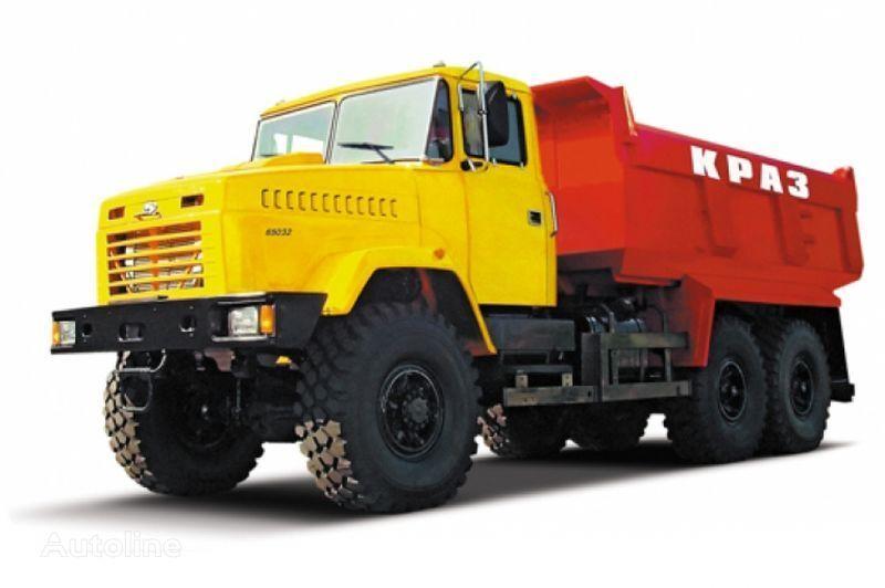 KRAZ 65032 tip 4  camião basculante