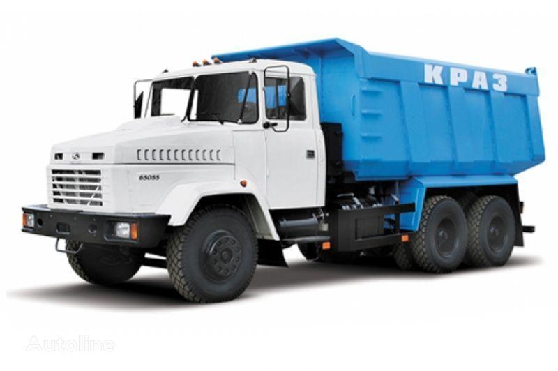 KRAZ 65055 tip 3  camião basculante