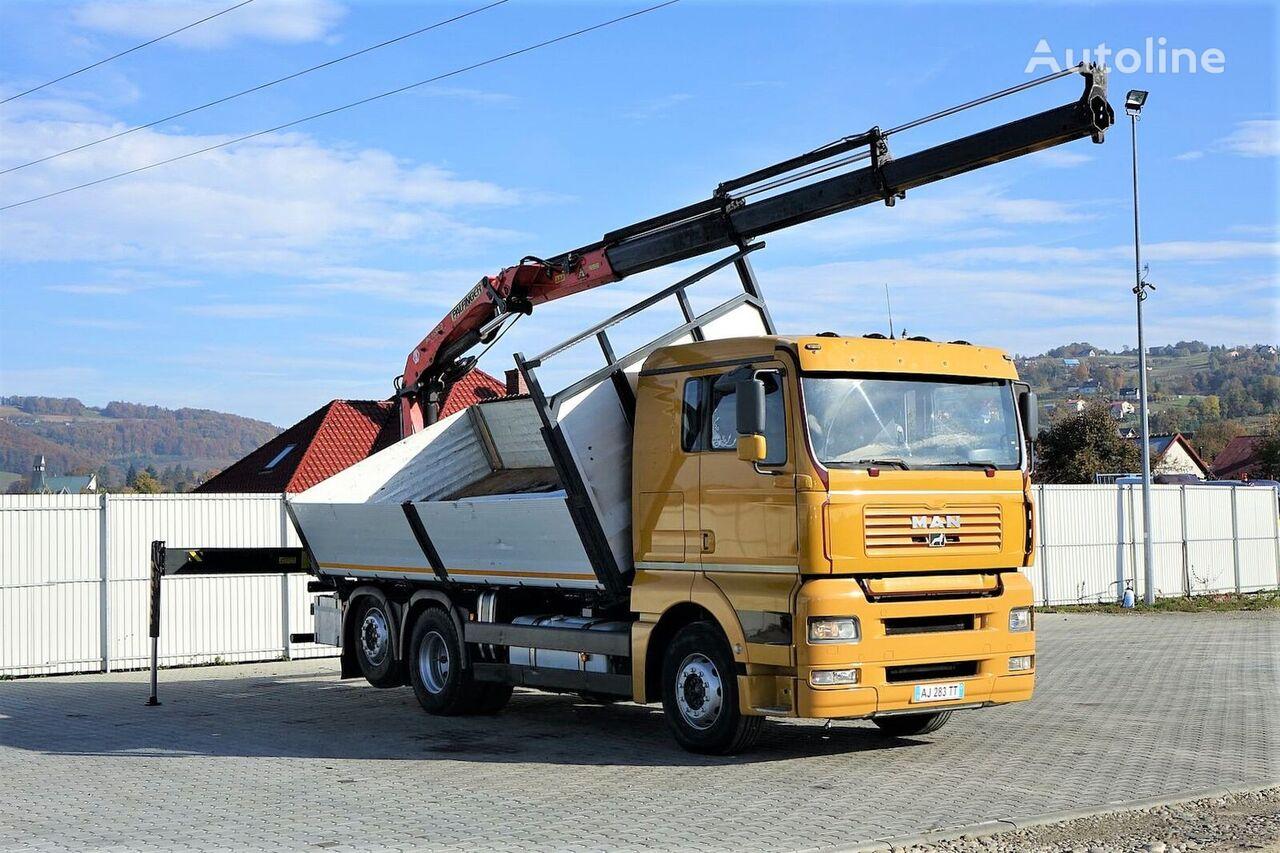 camião basculante MAN TGA 26.460