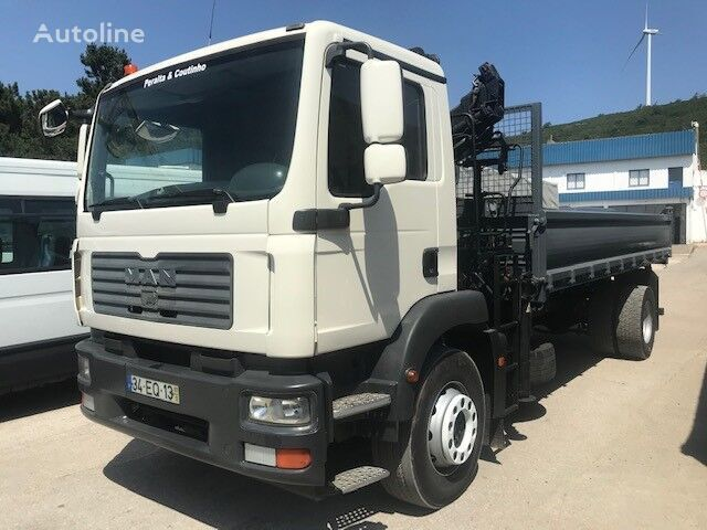 camião basculante MAN /TGM 18.280 Crane / Kipper/