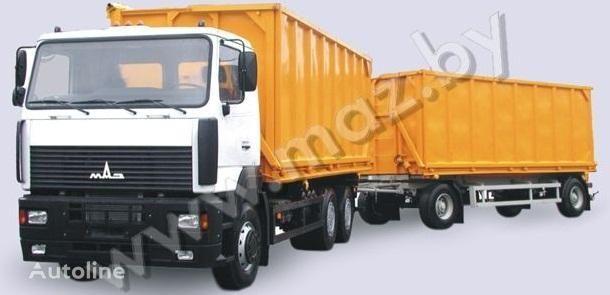 MAZ 6501A5 avtopoezd camião basculante novo