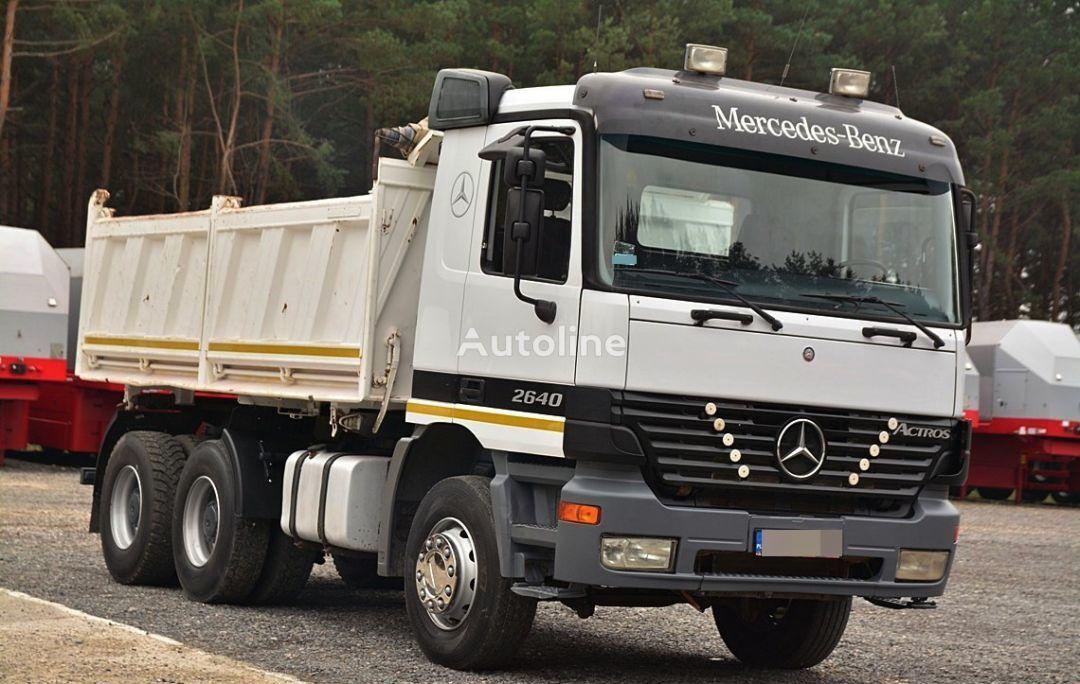 MERCEDES-BENZ ACTROS 2640  camião basculante