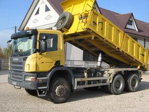 camião basculante SCANIA 6x6 P340 3 SIDED TIPPER