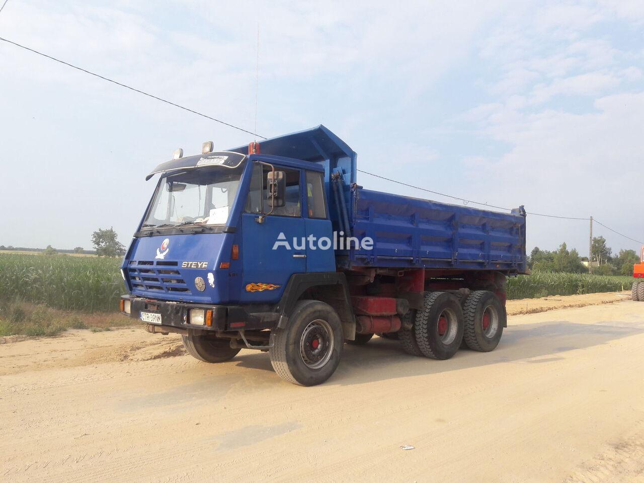 camião basculante STEYR 1491 6x4