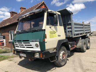 camião basculante STEYR 1491 Kipper Full Stell