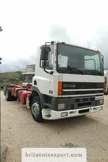 camião chassi DAF CF85 380 left hand drive manual pump 6X2 26 ton 637422 Km!