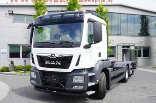 camião chassi MAN TGS 26.400 , HYDRODRIVE , 6x6x4 , NEW , UNUSED , 400 km , steer/