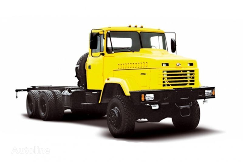 KRAZ 63221 tip 2 camião chassi