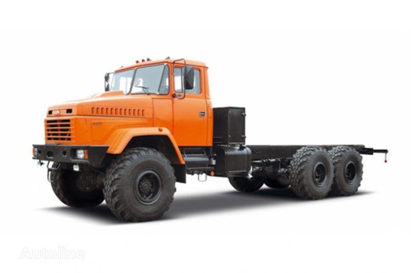 KRAZ 63221 tip 3 camião chassi