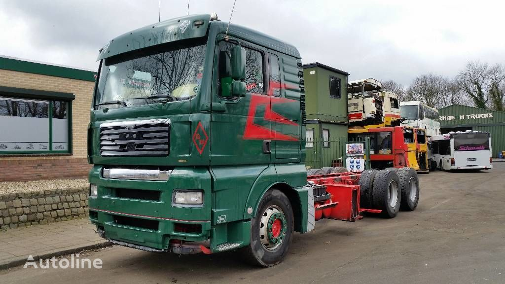 MAN TGA 28.480 camião chassi