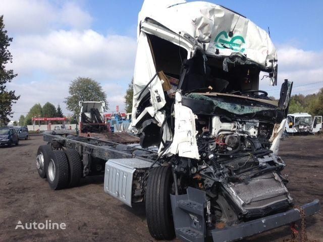 MERCEDES-BENZ Actros 2642  camião chassi acidentados para peças