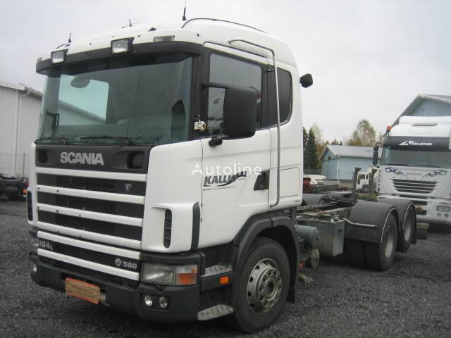 SCANIA R164 580 camião chassi