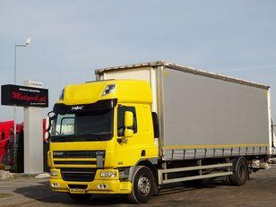 camião com lona deslizante DAF CF 75.310 / CURTAINSIDER - 8,6 M / ELEVATOR / MANUAL / SLEEP CAB
