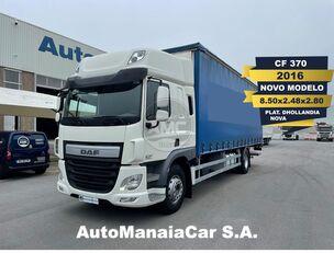 camião com lona deslizante DAF CF SSC 370 EURO6 4X2 CORTINAS