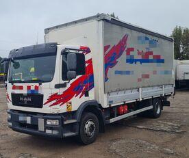 camião com lona deslizante MAN TGM 15.250 from FR, 214000 km
