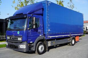 camião com lona deslizante MERCEDES-BENZ Atego 1224L / Euro 6/18 europallets / 240 thousand. km!