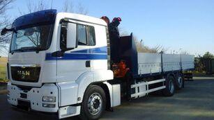 camião de caixa aberta MAN TGS 26 440